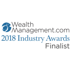 WealthManagement.com 2018 Industry Award Finalist logo